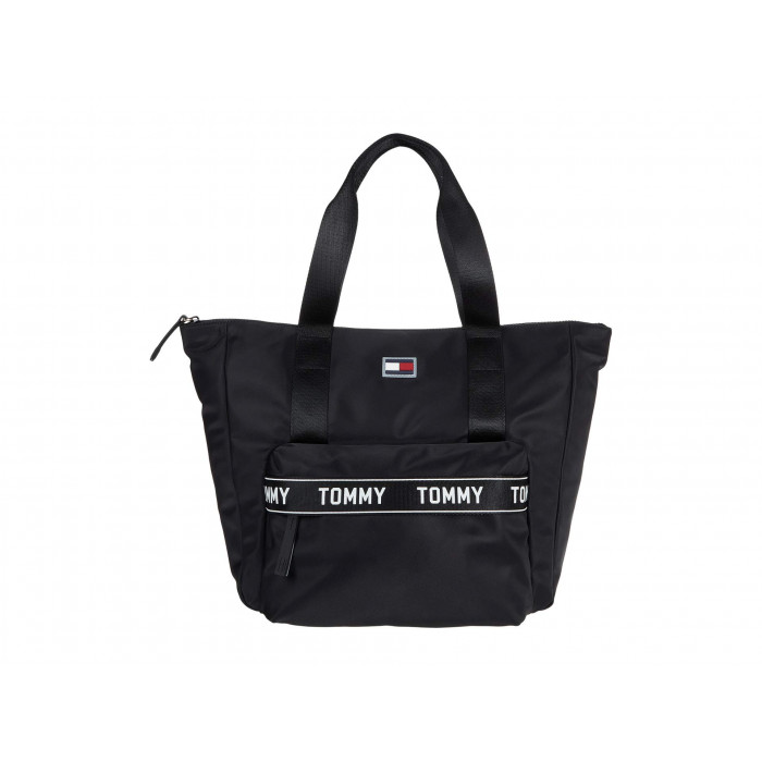 Tommy Hilfiger Allie Tote - Taping Smooth Nylon
