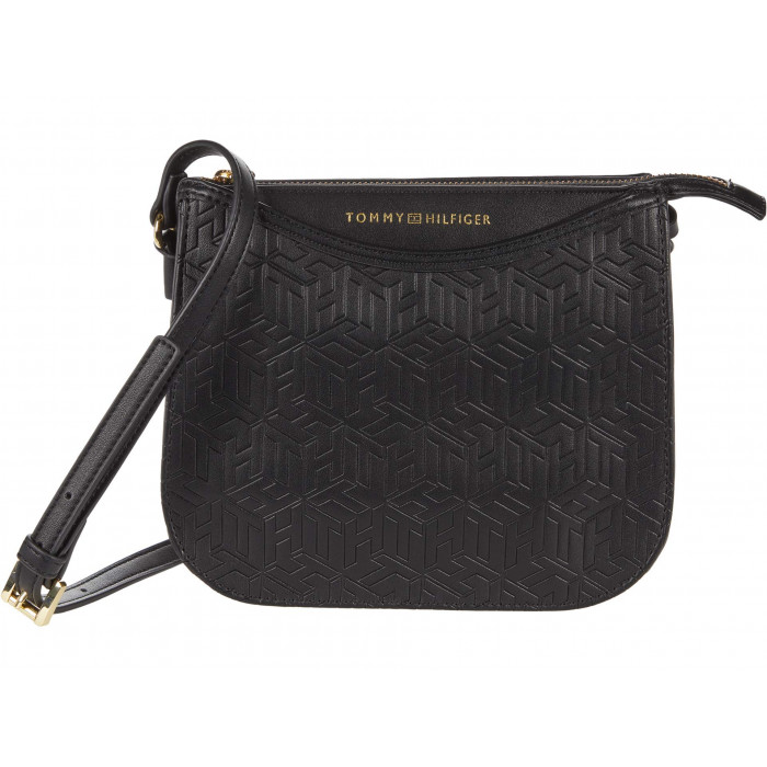 Tommy Hilfiger April Crossbody - TH Cube Embossed PVC