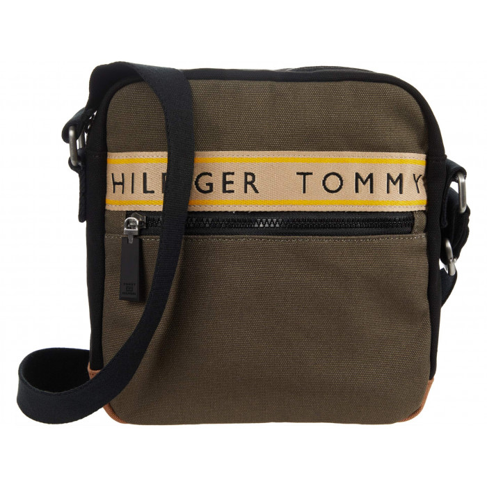 Tommy Hilfiger Hayes - Crossbody - Canvas with Taping