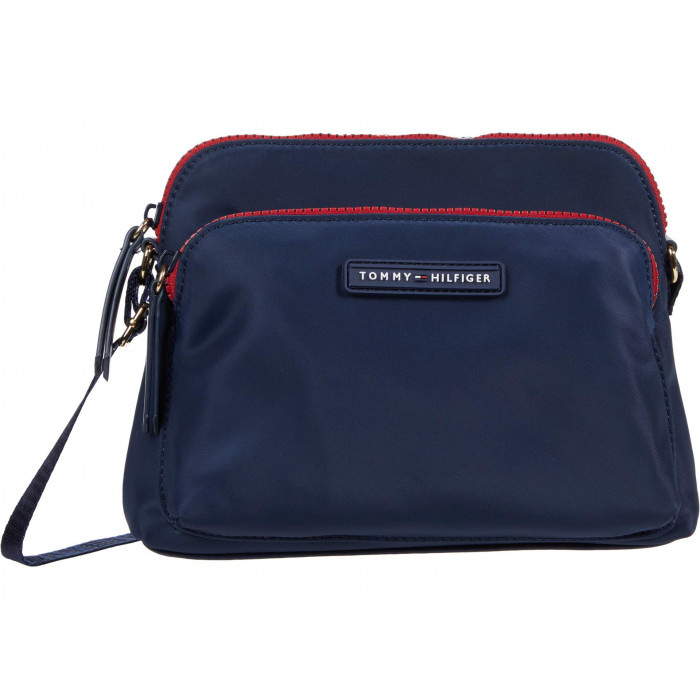 Tommy Hilfiger Kylee II Eastu002FWest Crossbody Smooth Nylon