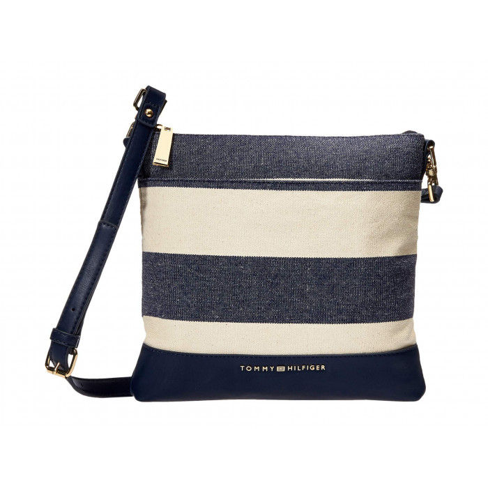 Tommy Hilfiger Maisie Large NS Crossbody - Woven Rugby