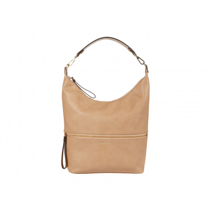 Calvin Klein Elaine Bubble Lamb Novelty Hobo