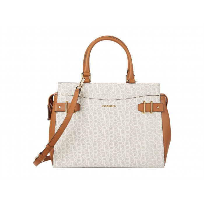 Calvin Klein Key Item Signature Satchel