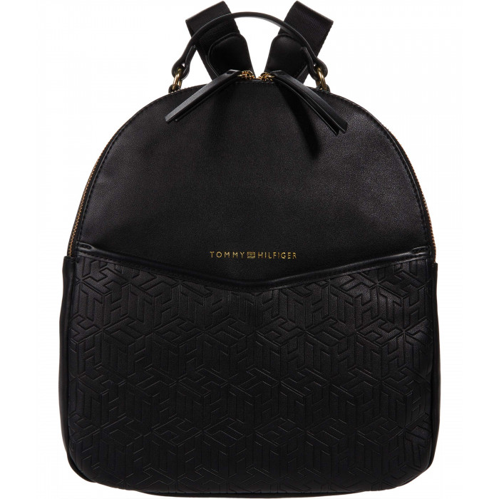 Tommy Hilfiger April Backpack - TH Cube Embossed PVC