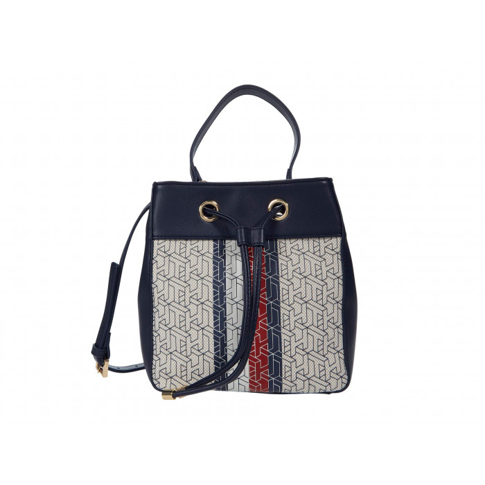 Tommy Hilfiger Maya Bucket - Twill TH Cube Print