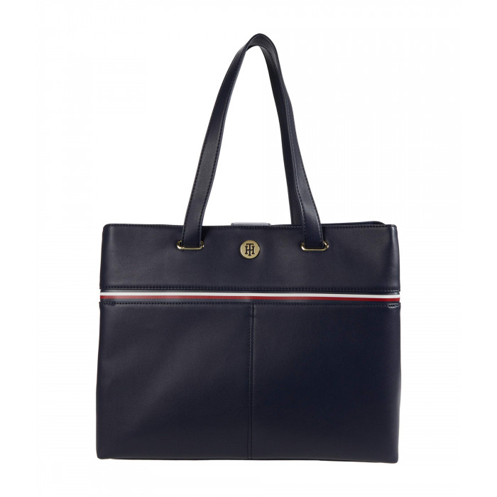 Tommy Hilfiger Brynn International Tote Smooth Grain PVC