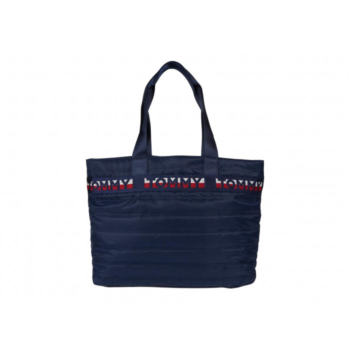 Tommy Hilfiger Rebecca II Tote Quilted Nylon