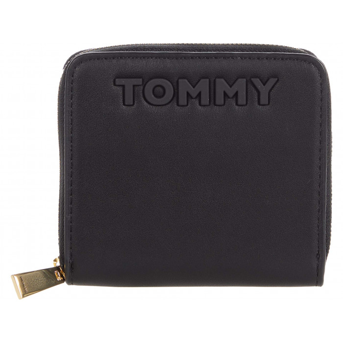 Tommy Hilfiger Mia French Zip Wallet - Smooth Grain PVC
