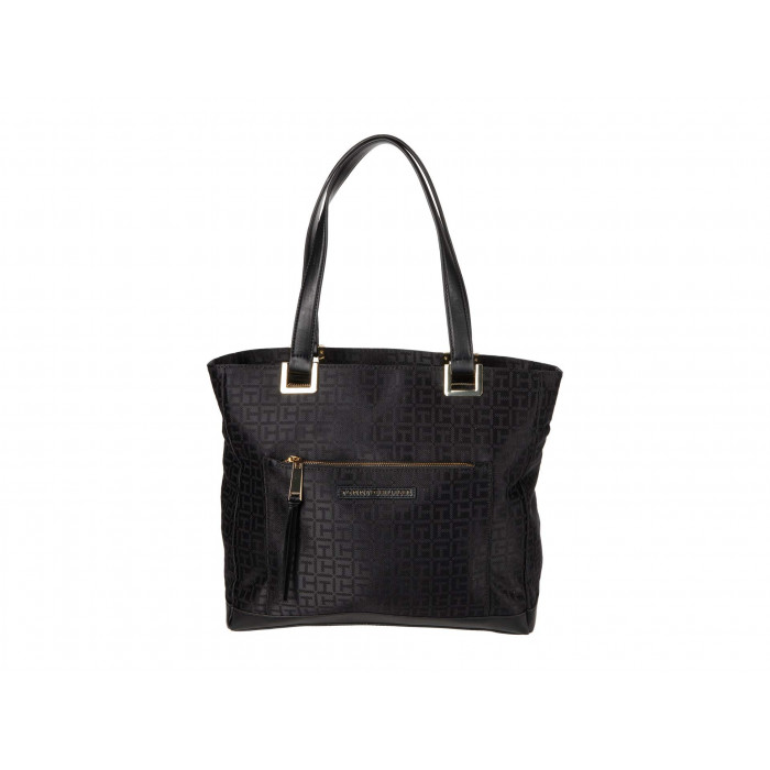 Tommy Hilfiger Althea Tote Monogram Jacquard