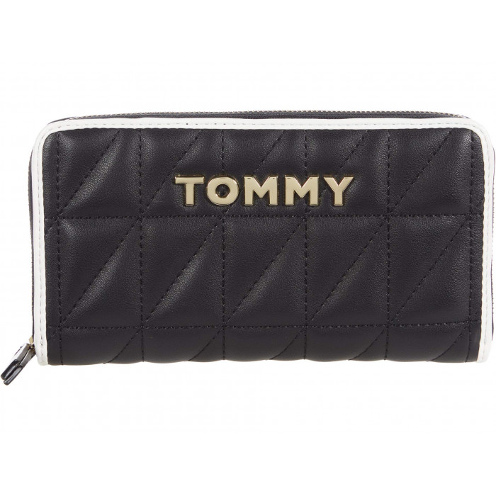 Tommy Hilfiger Emma Large Zip Wallet - Quilted PVC