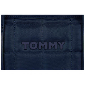 Tommy Hilfiger Robin Tote Color-Block Quilted Nylon